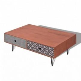 Table basse marron 100 x 60...
