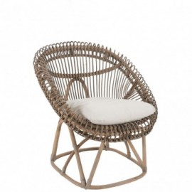 Chaise relax + coussin roco...