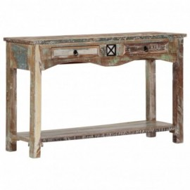 Table console 2 tirroirs...