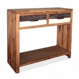 Table console acacia massif...