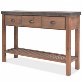 Table console sapin massif...