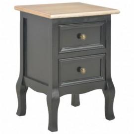Table de chevet en bois 2...