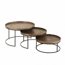 Set De 3 Table Gigogne...
