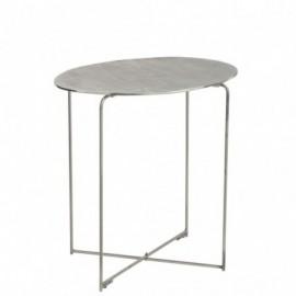 Table Gigogne Metal Argent