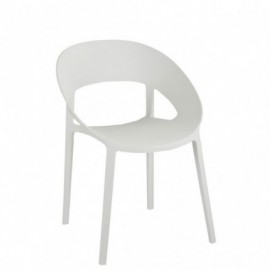 Chaise Polypropylene Blanc