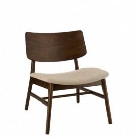 fauteuil Vintage Bois Hevea...