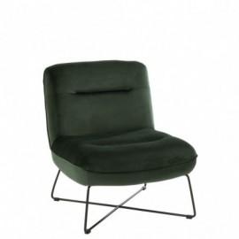 fauteuil Textile et Metal Vert