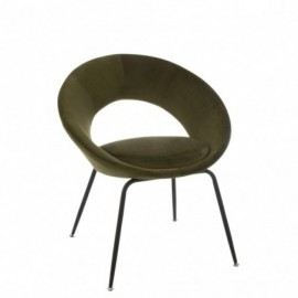 fauteuil Metal Trou Metal...