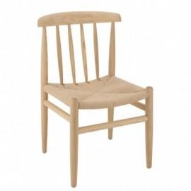 fauteuil Scandinave Bois...