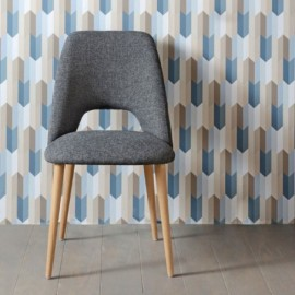 Chaise Scandinave Gentianne...