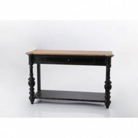 Table Console Drapier Noir...