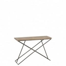 Table console en bois de...