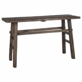 Table console en bois...