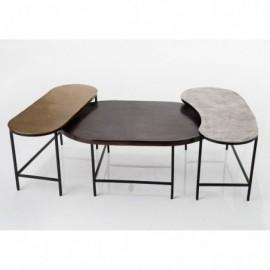 Tables Basses Set De 3 Ali...