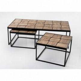 Tables Basses Set De 3 En...
