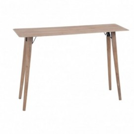 Table console métal vernis...