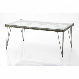 Table Basse Carte Du Monde...