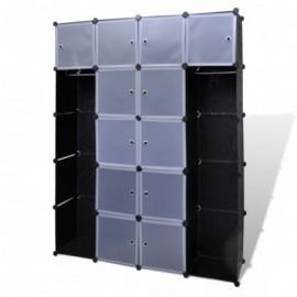 Cabinet modulable avec 14...