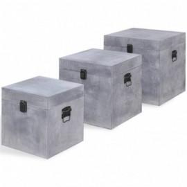 Boîte de rangement carrée 3...