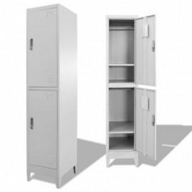 Armoire à casiers avec 2...