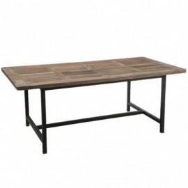 Table à manger en bois et...