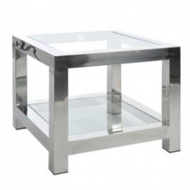 Table basse carrée acier...