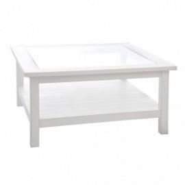 Table basse carrée bois...