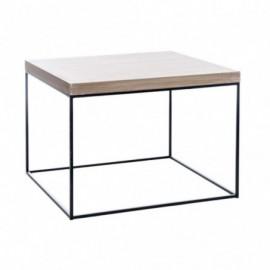 Table basse carrée en bois...