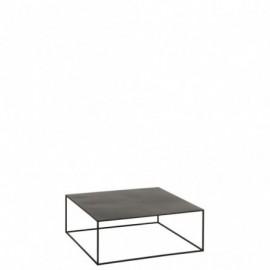 Table basse carrée métal...