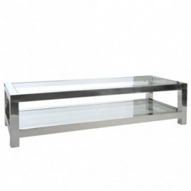 Table basse acier inox...