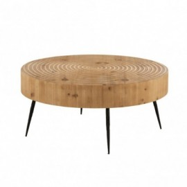 Table basse ronde style...