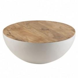 Table basse Table ronde en...