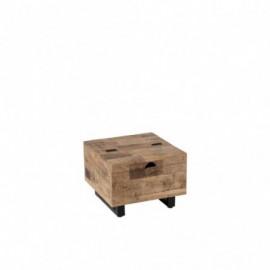 Table basse coffre carré...