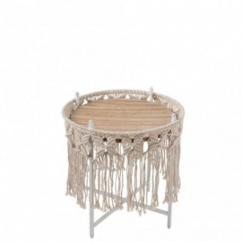 Table d'appoint boho...