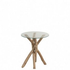 Table d'appoint branches en...