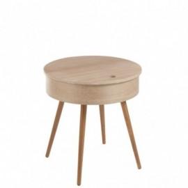 Table d'appoint en bois...