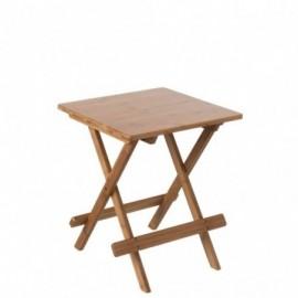 Table d'appoint pliable en...