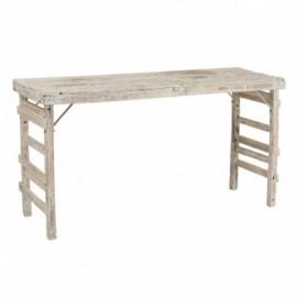 Table haute vieillie en...