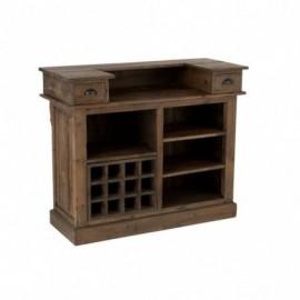 Bar 2 tiroirs en bois...