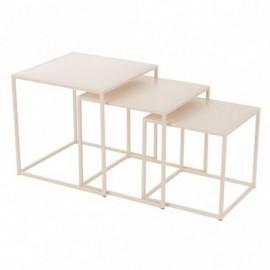 Tables gigognes carrées x3...