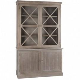 Vaisselier en bois 4 portes...