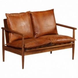 Canapé 2 places cuir...
