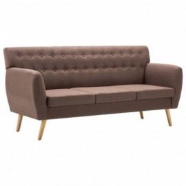 Canapé 3 places en tissu...