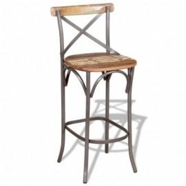 chaise de bar en bois de...