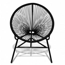 chaise de jardin lune en...