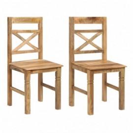 lot 2 Chaises de salle à...