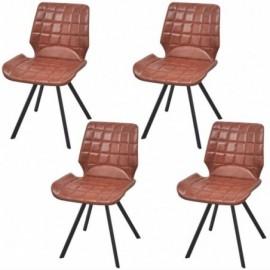 lot 4 Chaises de salle à...