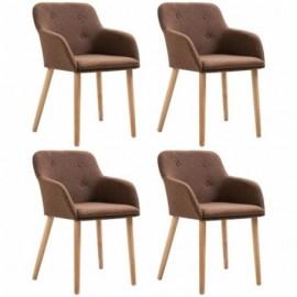 lot 4 chaises en chêne...