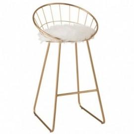 Chaise de bar ronde métal...