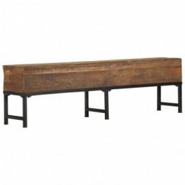 Banc style antique en bois...